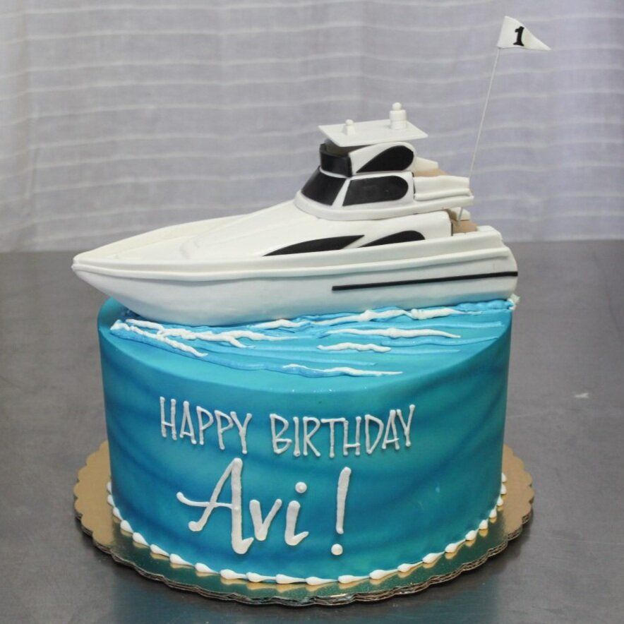 Yacht Cake
