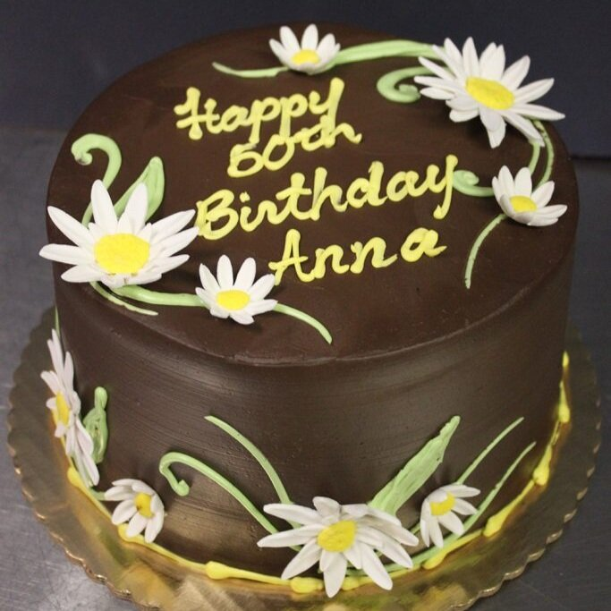 Daisy Ganache Cake