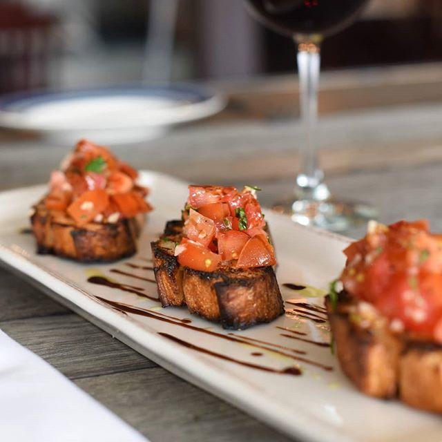 Our signature bruschetta. Seriously delicious.