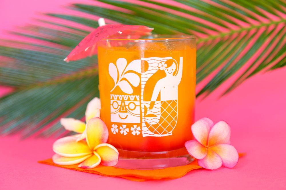MERMAID TIKI GLASS| for Clover Scout