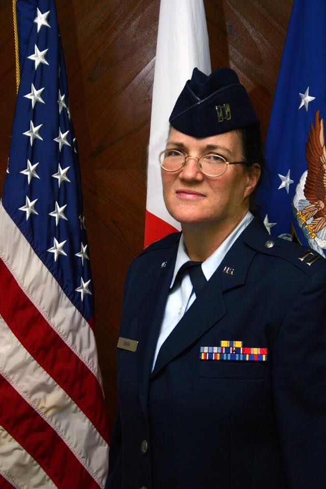 Barb Musselman Smith (Naomi's stepmother) US Air Force