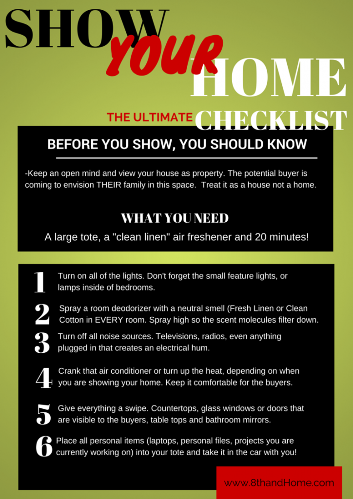 Show Your Home Checklist