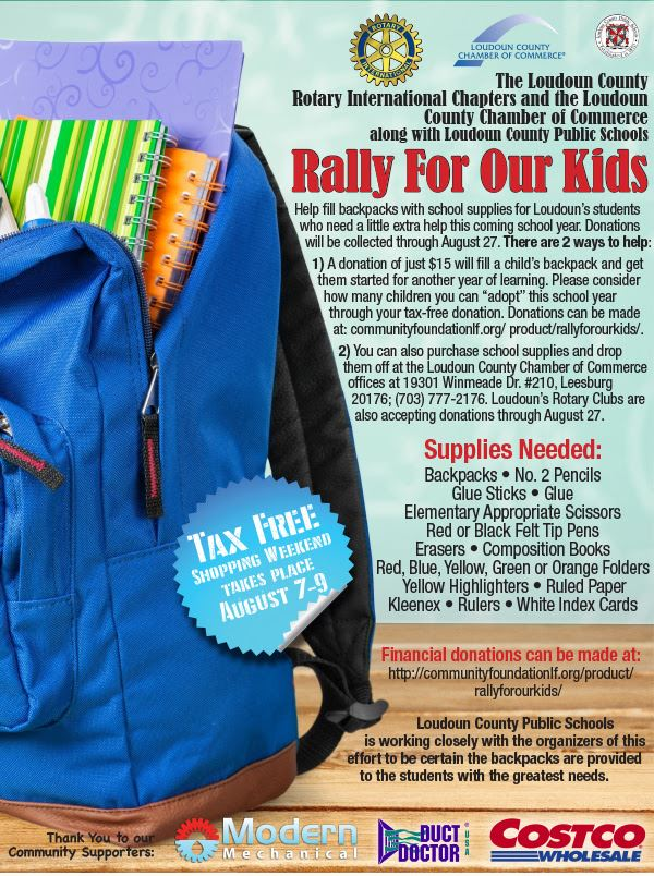 Rally For Our Kids Loudoun County Rotary