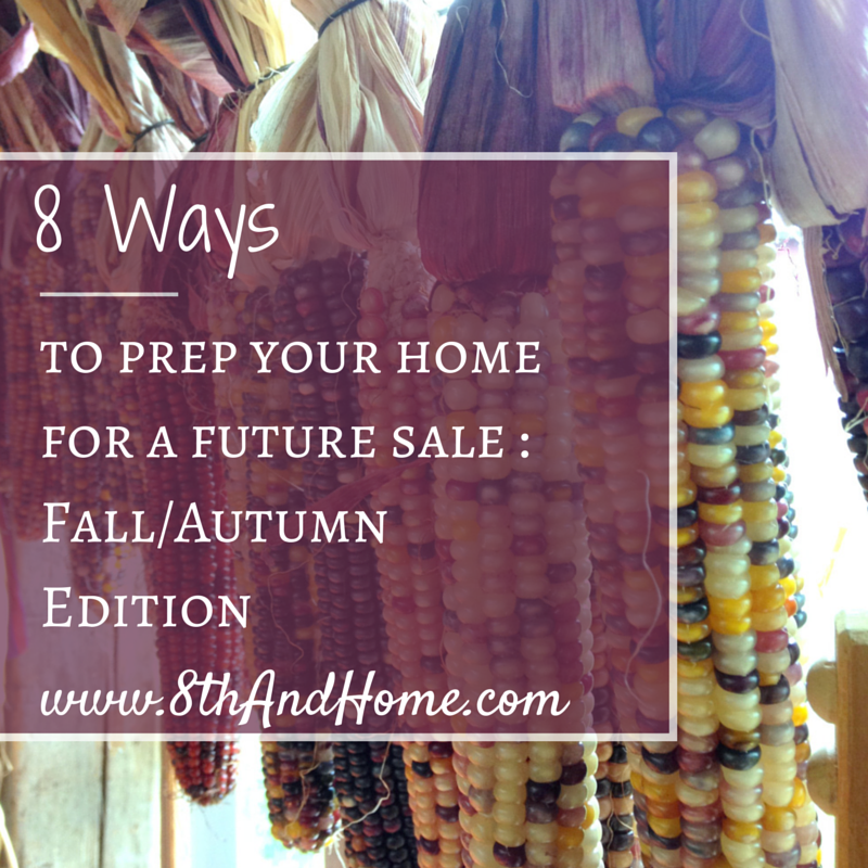 8 WAYS - prep - FALL