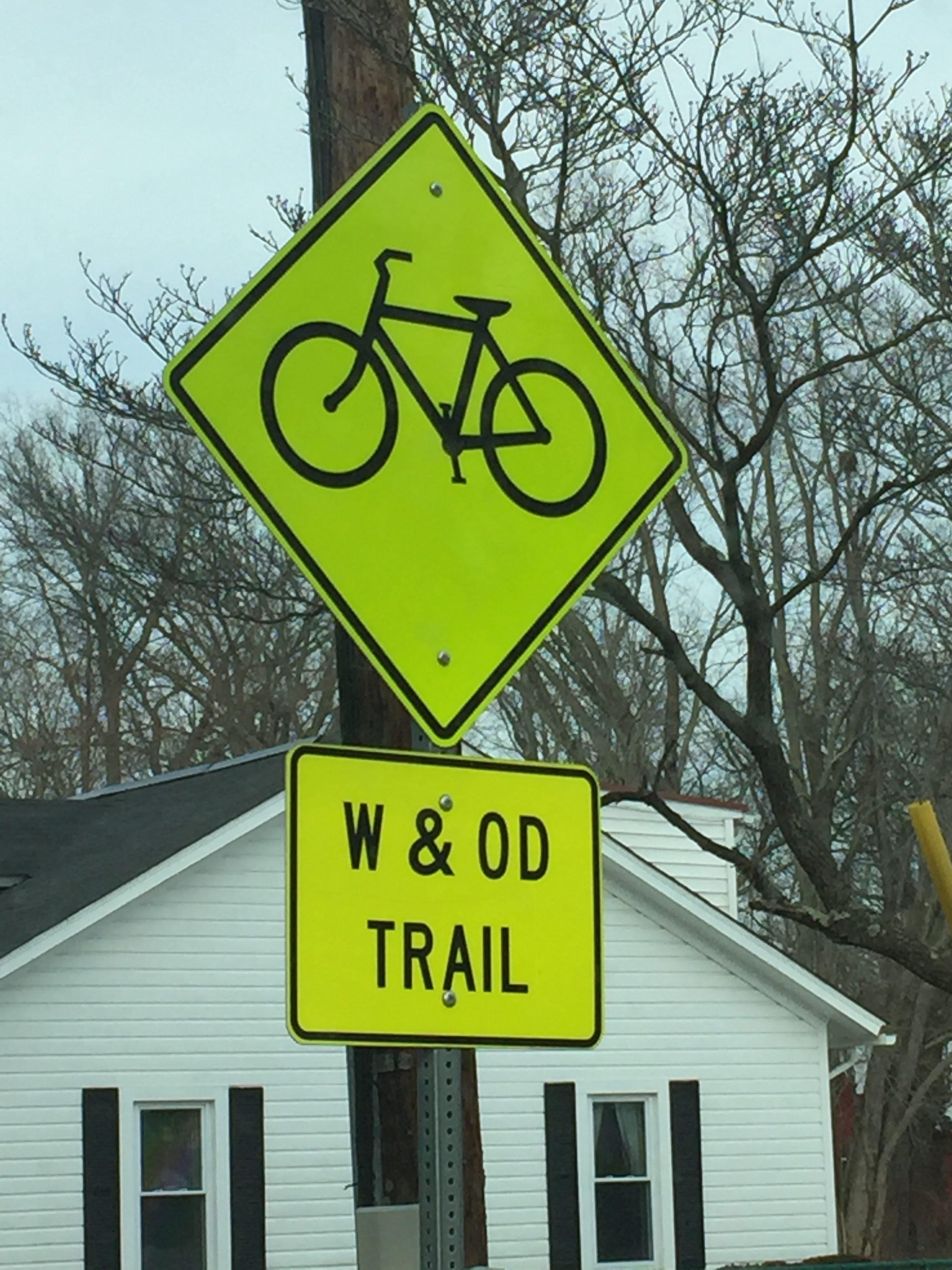 W & OD Trail