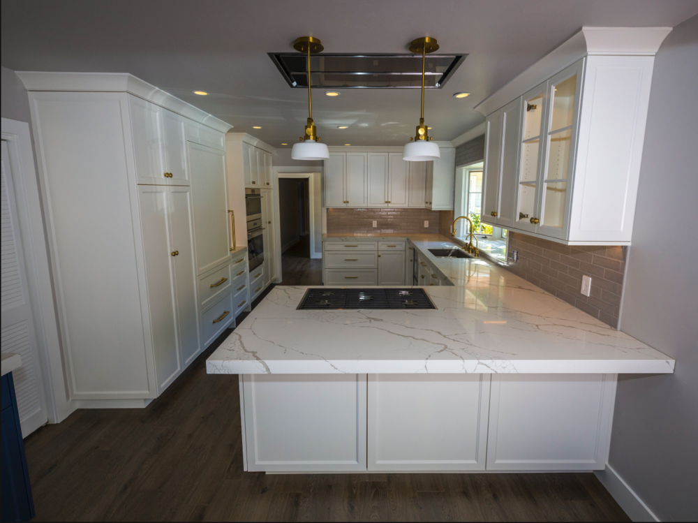 Installation  - Our professional team is dedicated to providing the highest quality cabinet installation. Technical specializations include cabinets, mouldings, doors, banisters, along with classic construction. We works efficiently and effectively around your schedule to guarantee finished results are of the highest caliber