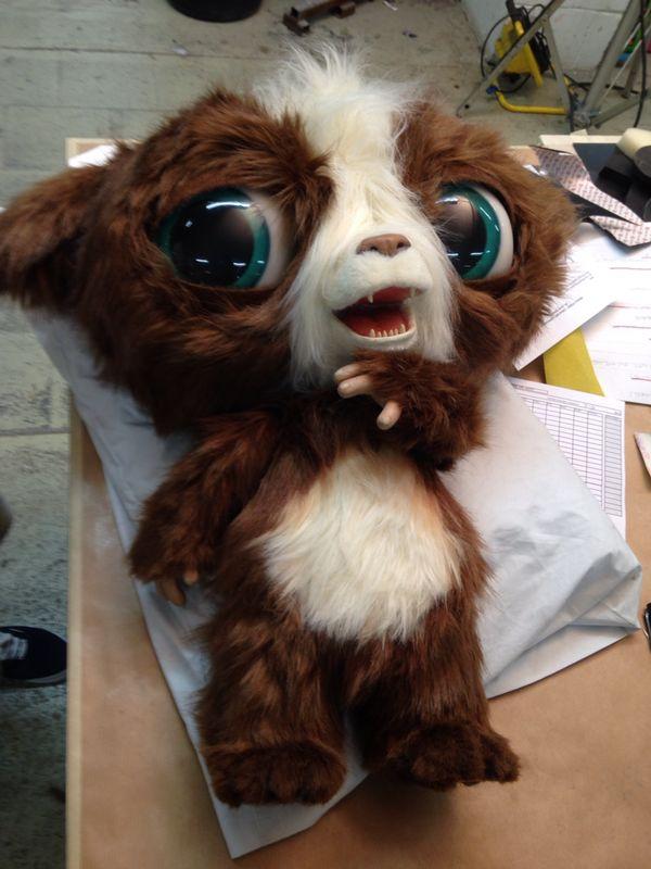 Cute monster puppet
