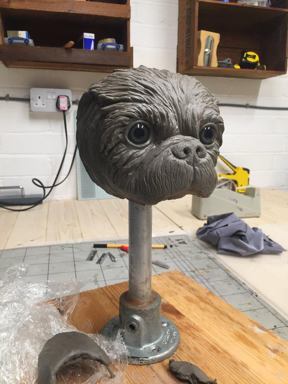 Dog puppet design