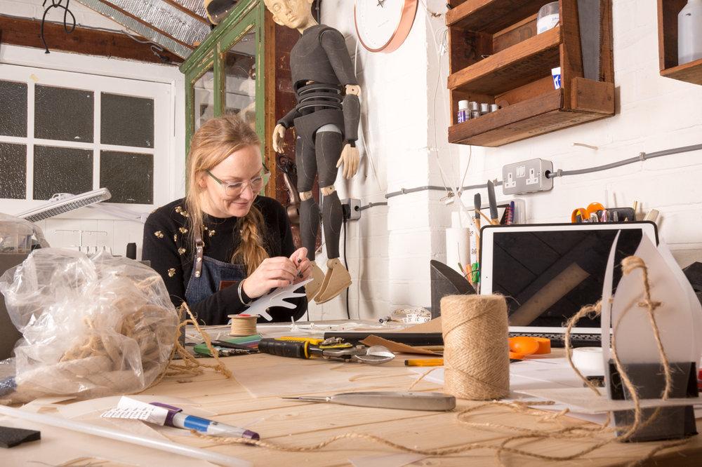 Becky Johnson - Practical effects workshop