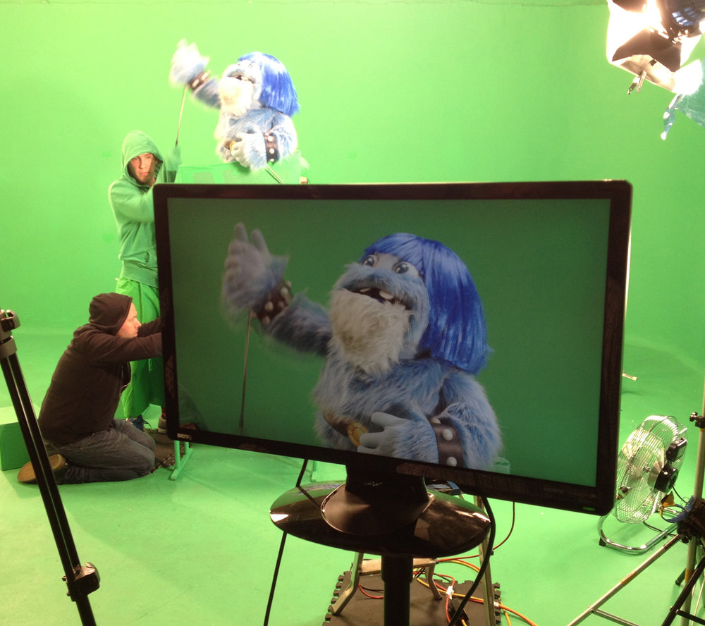 Puppets for childrens television
