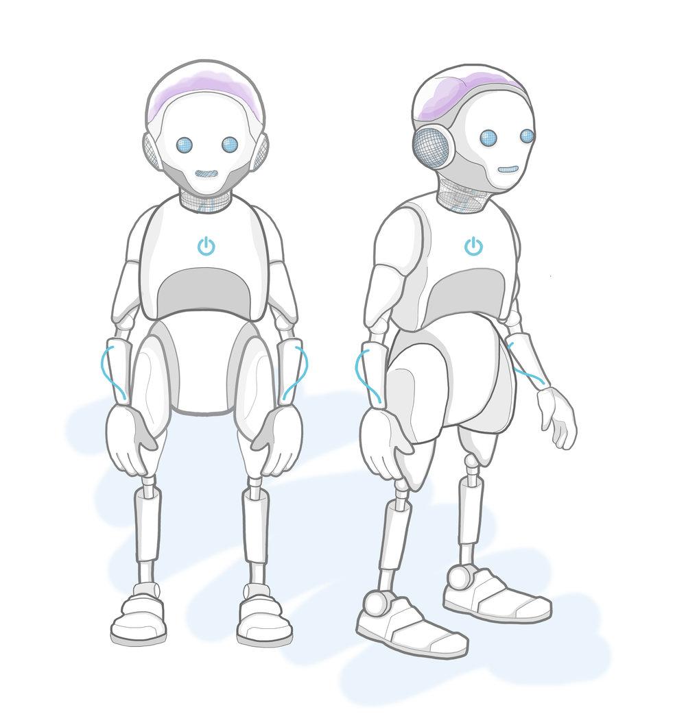 Robot puppet- Puppet design