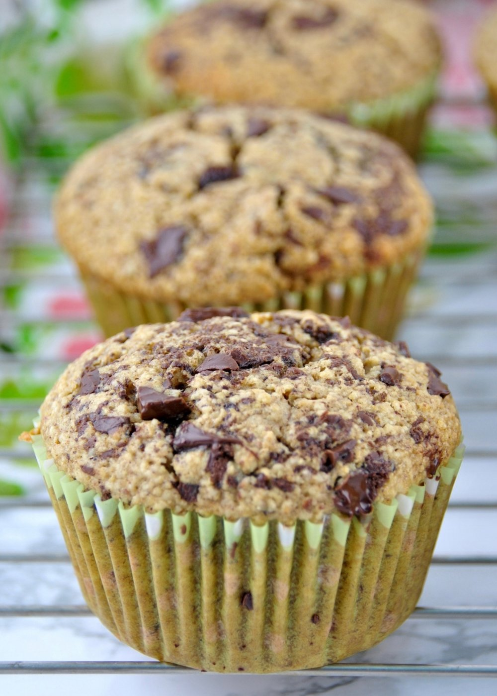 Oat & Almond Muffins