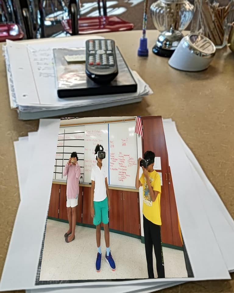 Currently we are in development for creating unique AR markers for Common Core Curriculum to test with middle school students.