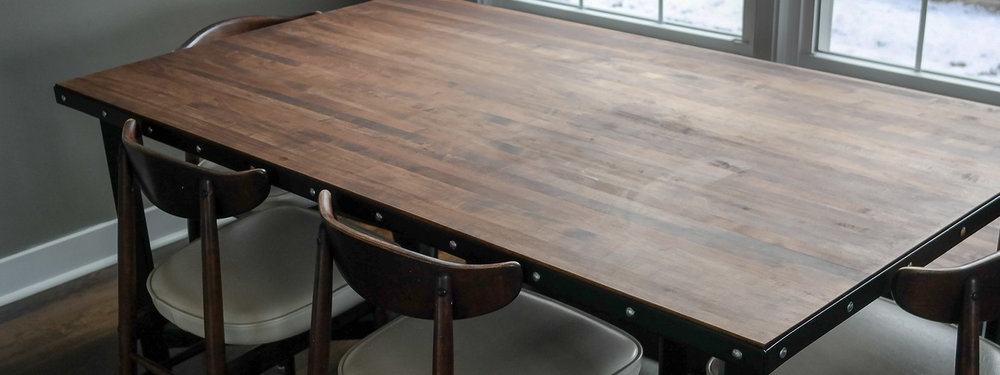 Custom Kitchen Table & Bench -