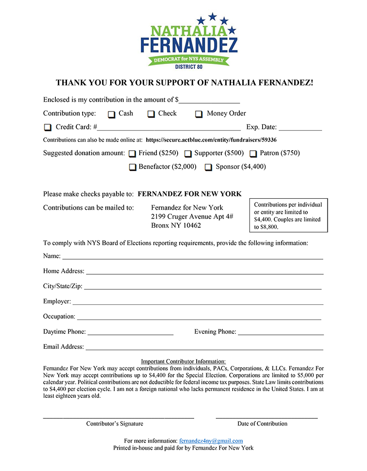 Download Contribution Form