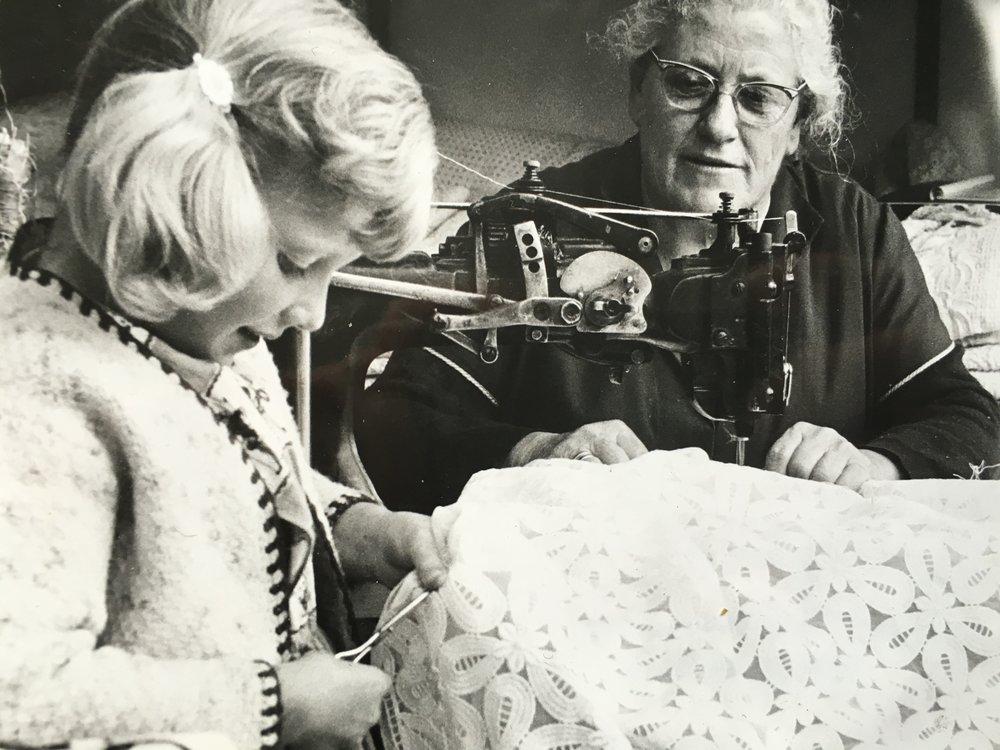 Lydia Vogel with Susanne Hämmerle