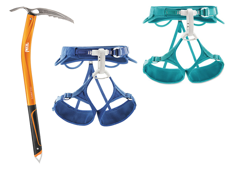 Petzl - Swing with confidence and secure yourself with sweet Petzl gear from Onward Up. Retail: $390