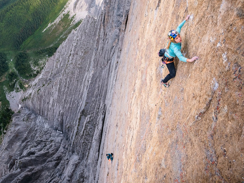"""Sasha DiGiulian Gear - The pieces Sasha used when she sent """"The Canadian Trilogy"""", three 5.14 big walls in the Rockies! Retail: N/A"""