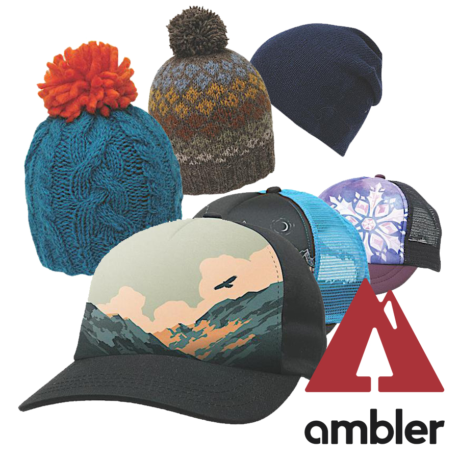 Ambler - A variety of trucker hats and toques inspired by our local wildlands and backcountry. The headwear will be available exclusively for purchase at the MGB!Retail: $38 (each)