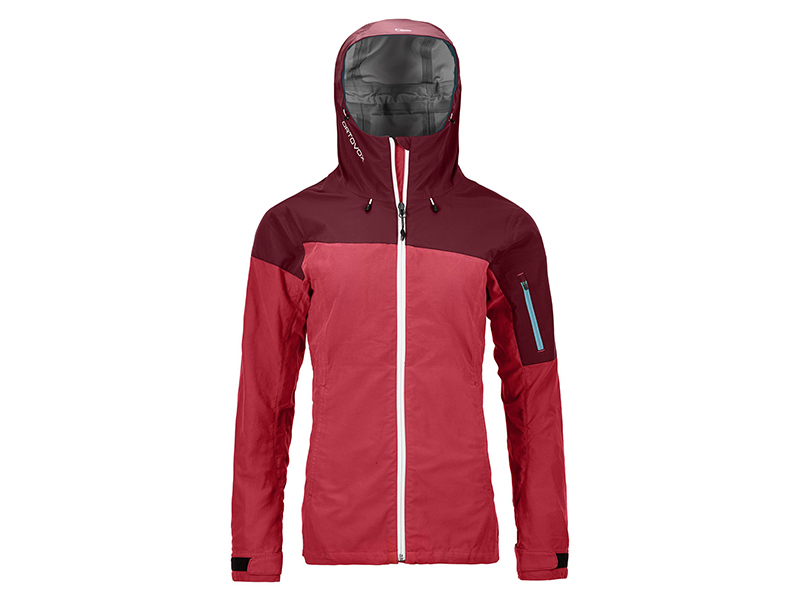 Ortovox - Hit the hills in style with the Women's Shield Vintage Corvara Jacket - with blended materials! Retail: $500