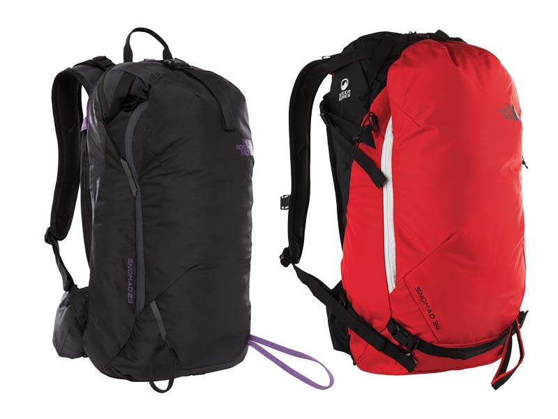The North Face - Run your next big lines with confidence and in style with these downhill packs from The North Face. Retail: $430