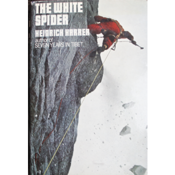 """Chic Scott - Delve deep into Eiger's North Face history with this very rare hardcover copy of """"The White Spider""""! Retail: $600"""