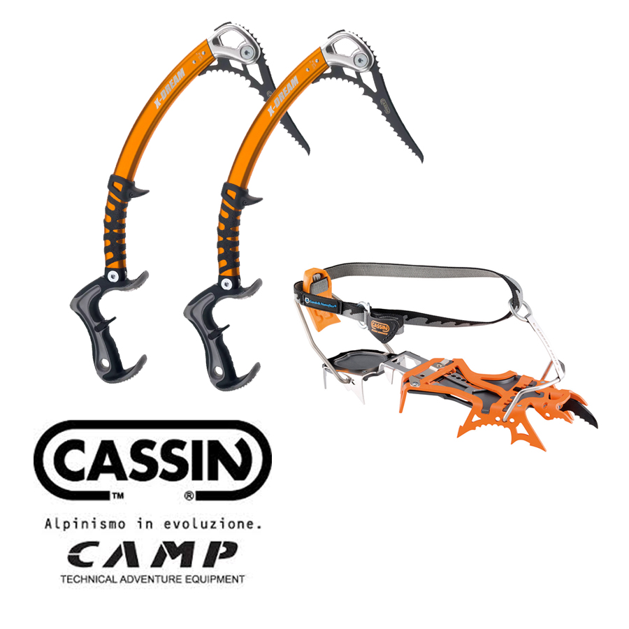 Camp Cassin - High end technical ice tools and crampons - sure bets to get you up scratchy dry-tooling crags to big alpine north faces in the Canadian RockiesRetail: $990
