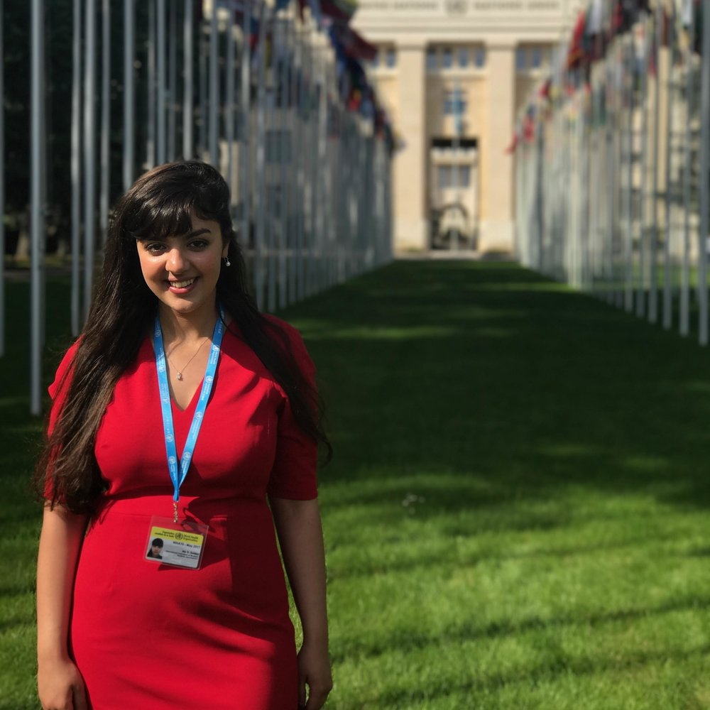 Sarah Sobka  Student Delegate  Sheffield, England