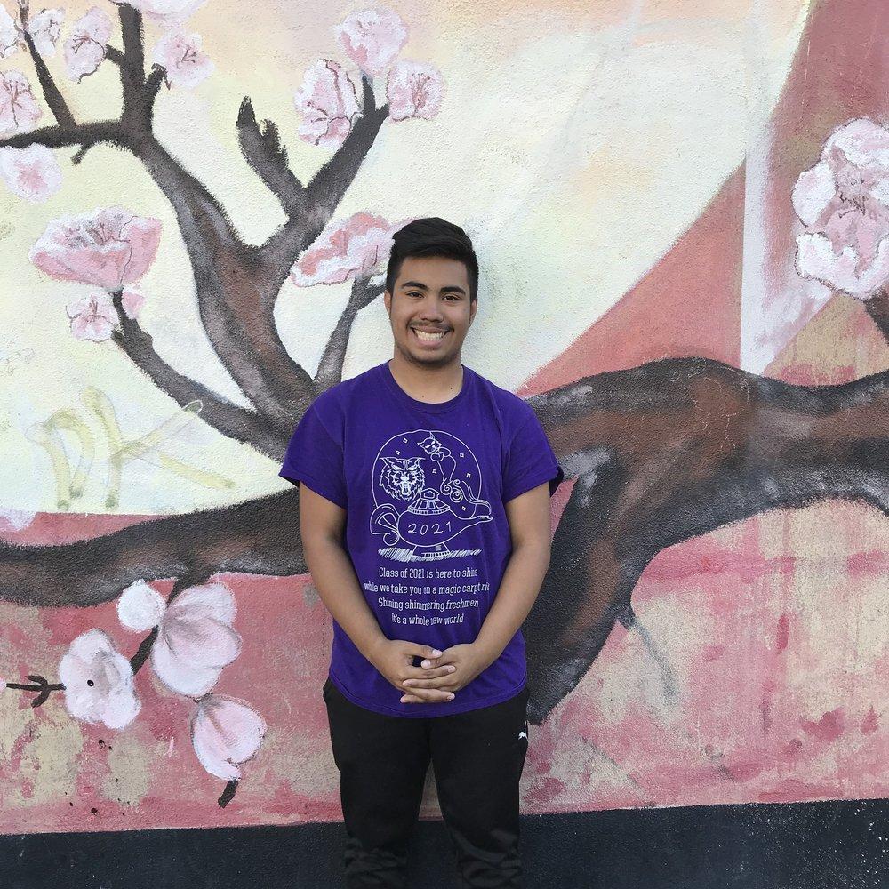 Angel Palencia Ramos  Student Delegate  Oakland, California USA