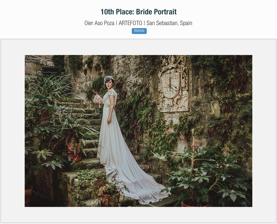 premio fotografia de bodas destination wedding award