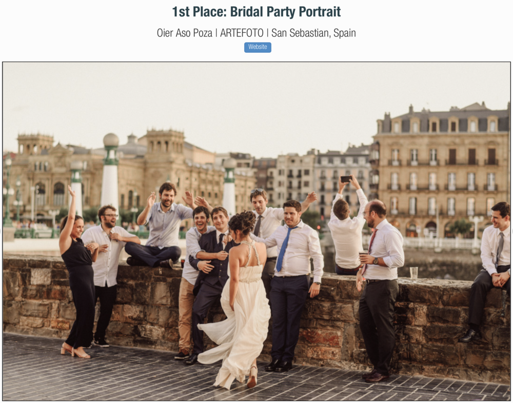 Fotógrafo de bodas premio mejor foto awards wedding photographer