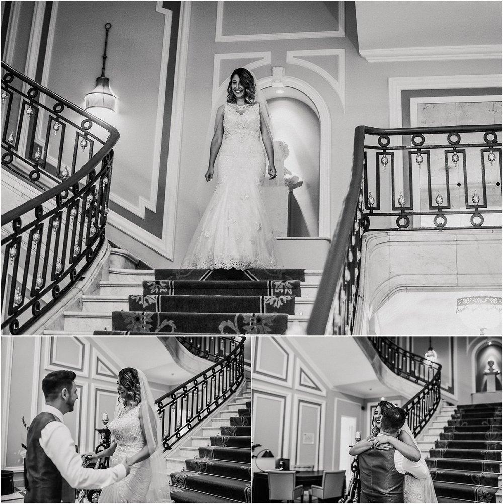 Fotografía de bodas san sebastián hotel maria cristina
