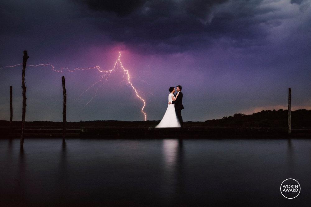 Best wedding capture san sebastian storm