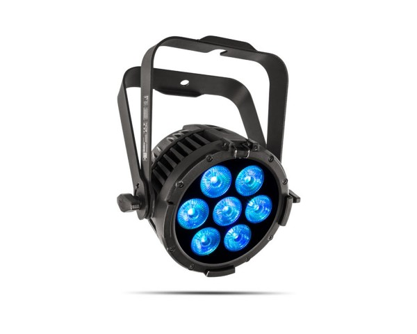 Chauvet COLORdash Par H7IP    COLORdash Par H7IP is an ultra compact, all-weather RGBAW+UV LED wash at home outdoors in any environment.