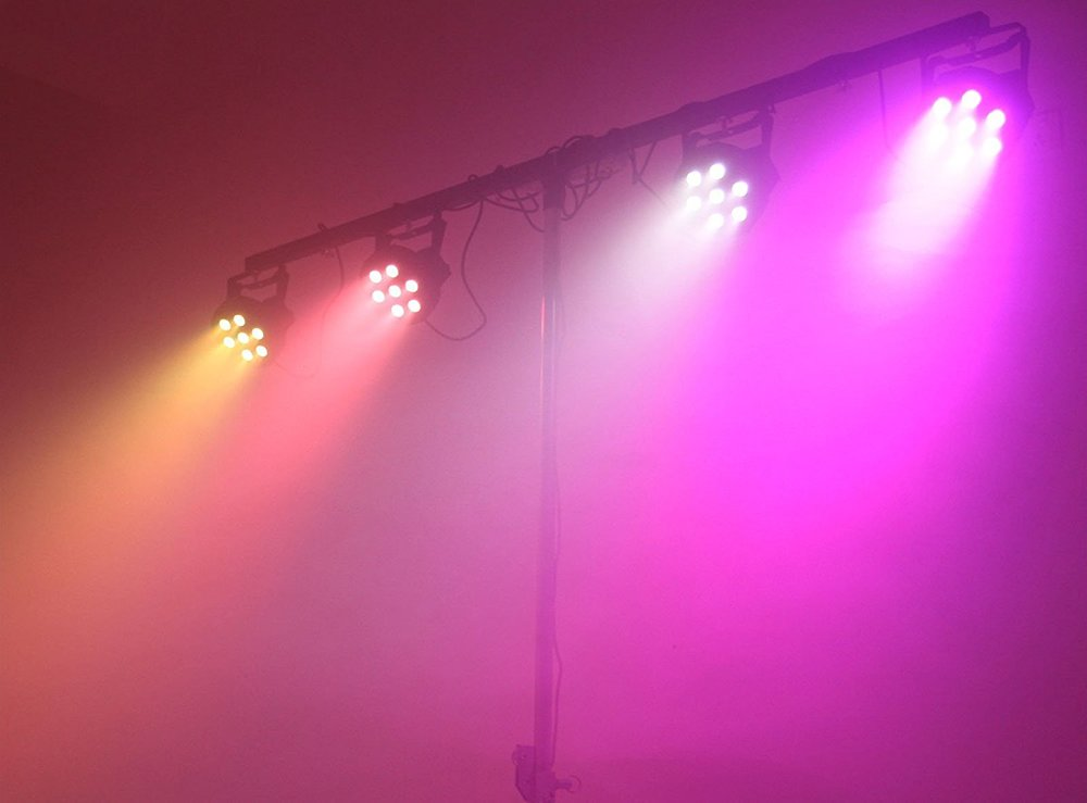Band Lighting Bundle   A quick and easy lighting system to setup that will add a wash of colour to your next gig.