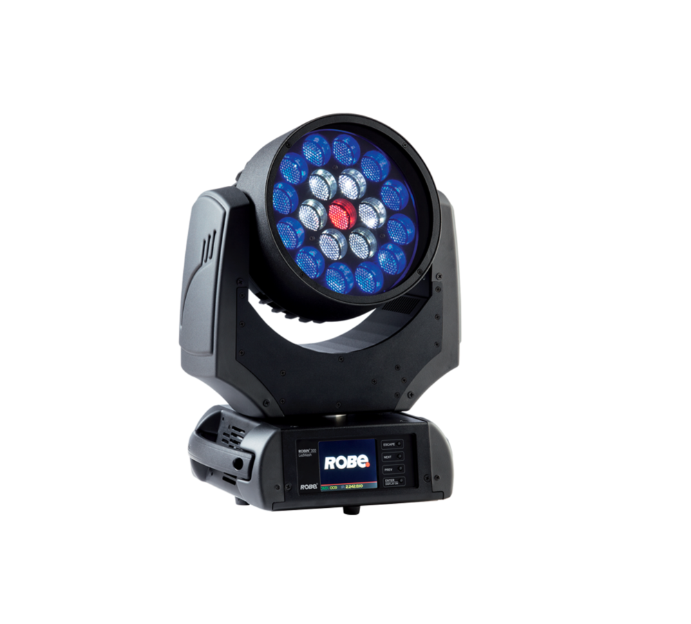 Robe Robin 300 LED Wash Moving Head    This lightweight compact fixture is ideal for all small-to-medium applications.