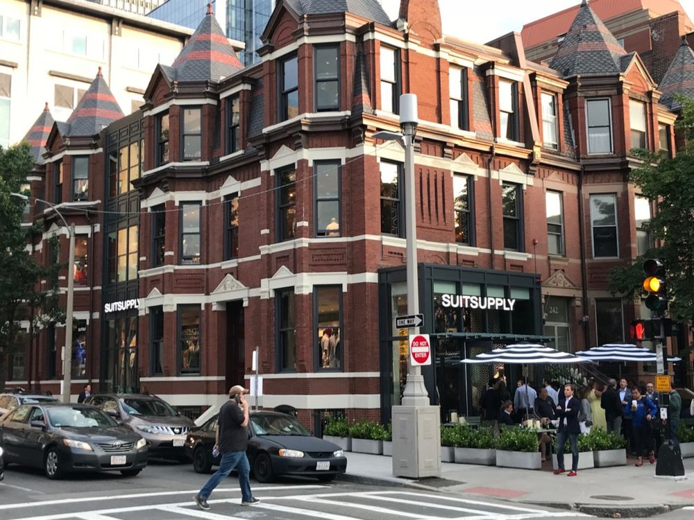 A Visit to The New Suitsupply Store in Boston - PRESS JUNE 2018