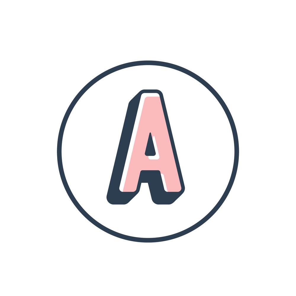 alternate logo design graphic designer