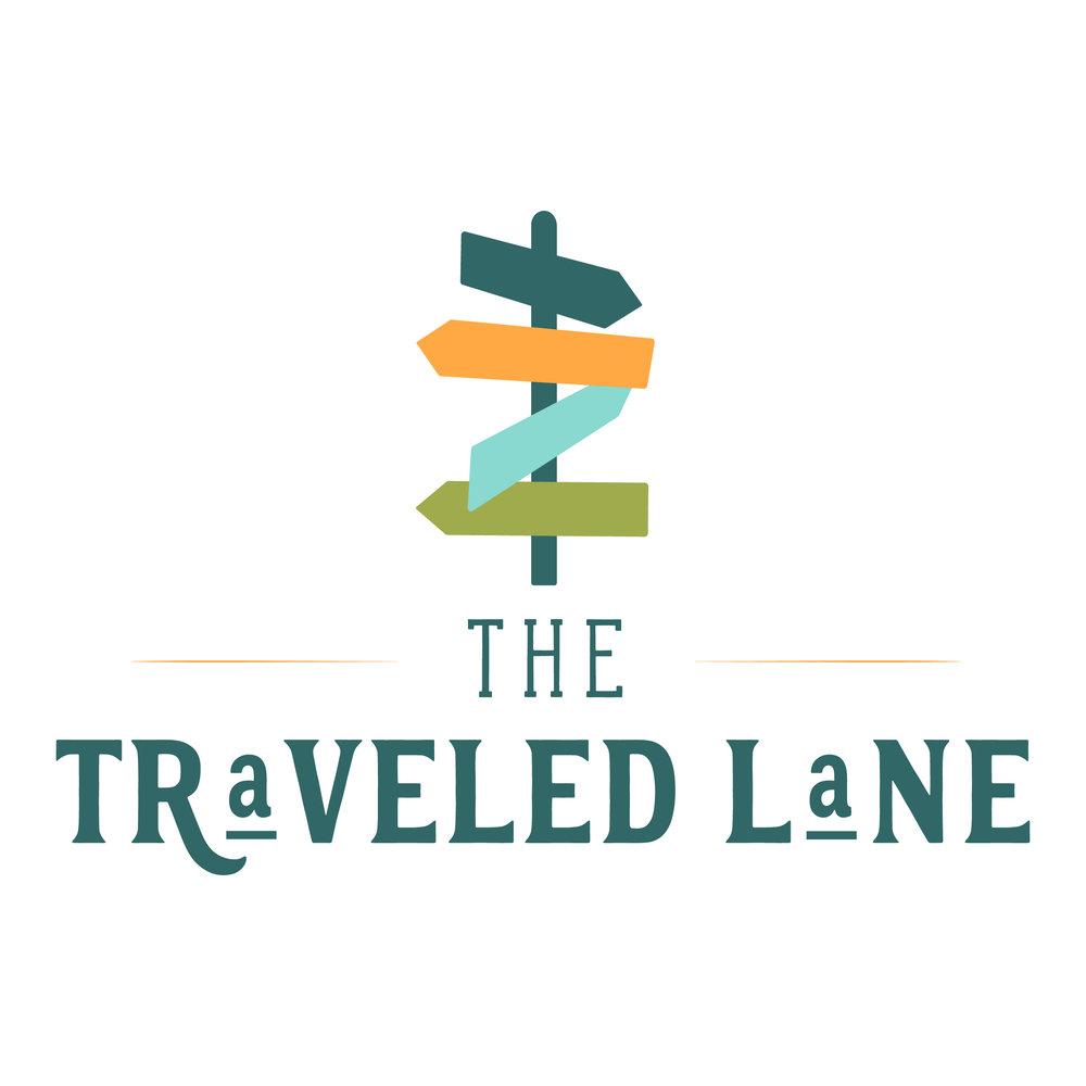 main logo design traveled lane