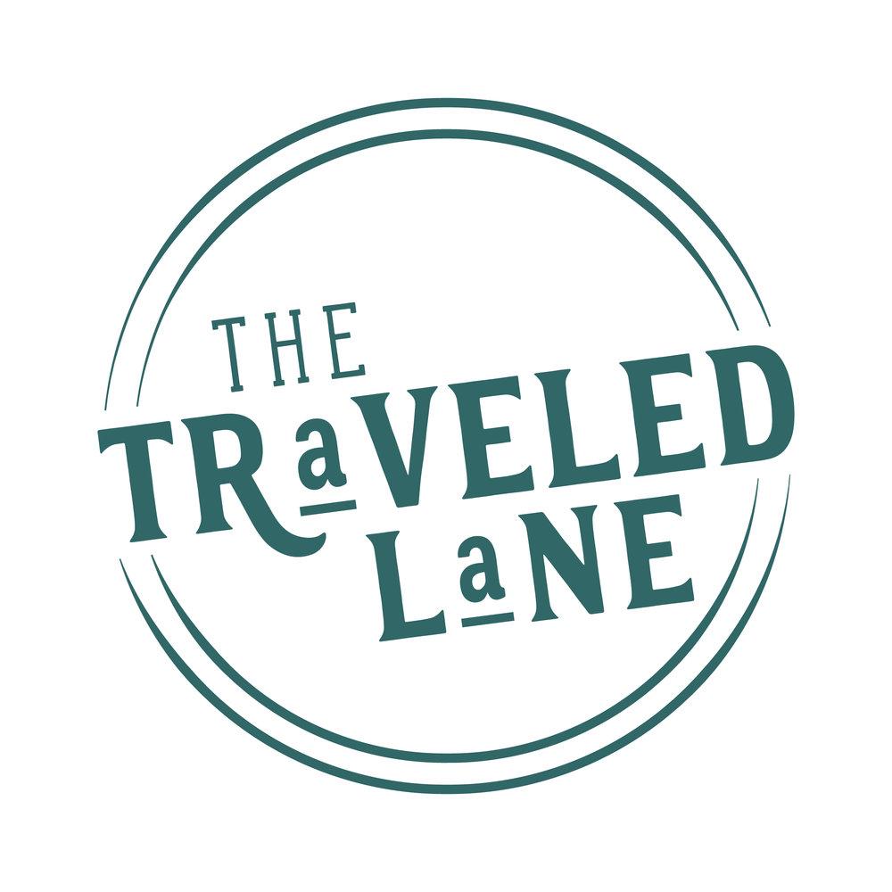 alternate logo design traveled lane