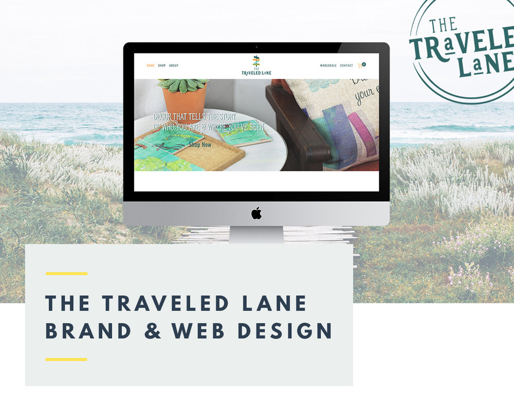 The Traveled Lane Brand and Web Design