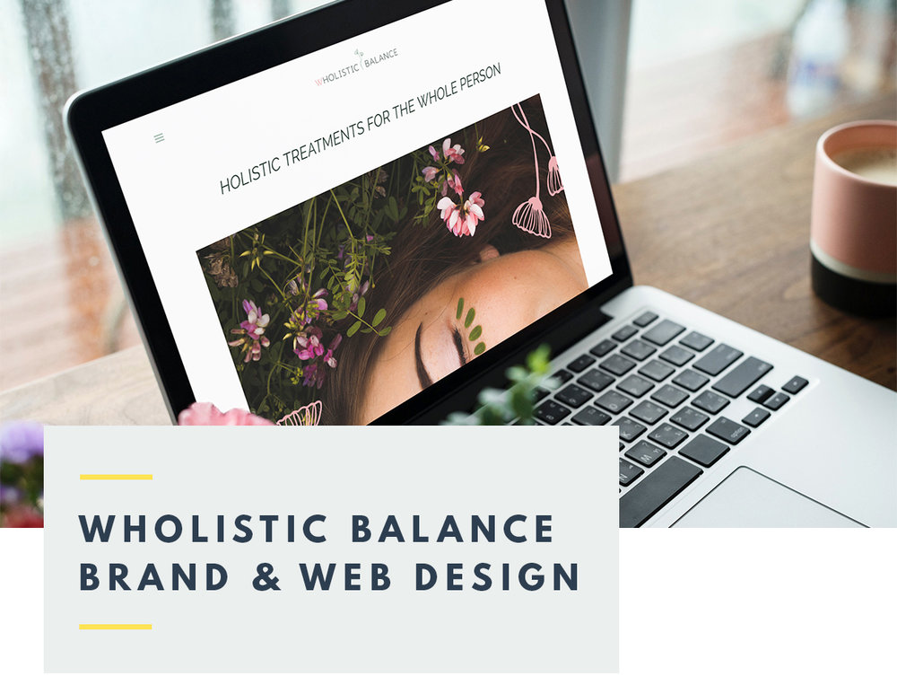 Wholistic Balance Brand and Web Design