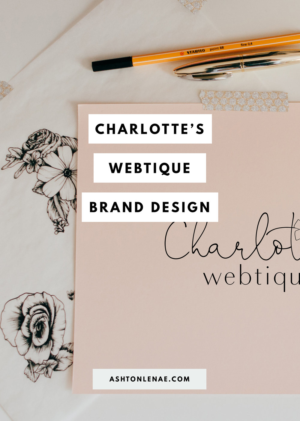 Charlotte's Webtique Brand Design Case Study