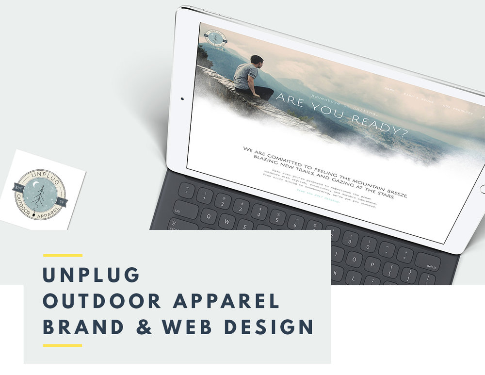 Unplug Brand and Web Design