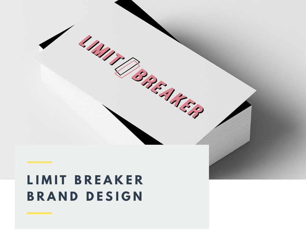 Limit Breaker Brand and Logo Design