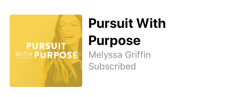 Pursuit With Purpose Podcast