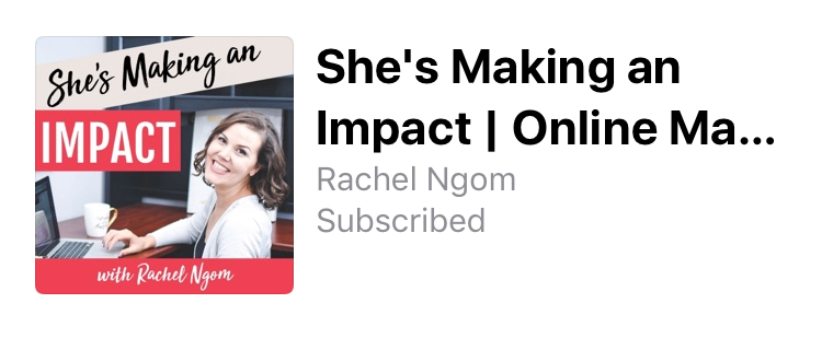 She's Making An Impact Podcast