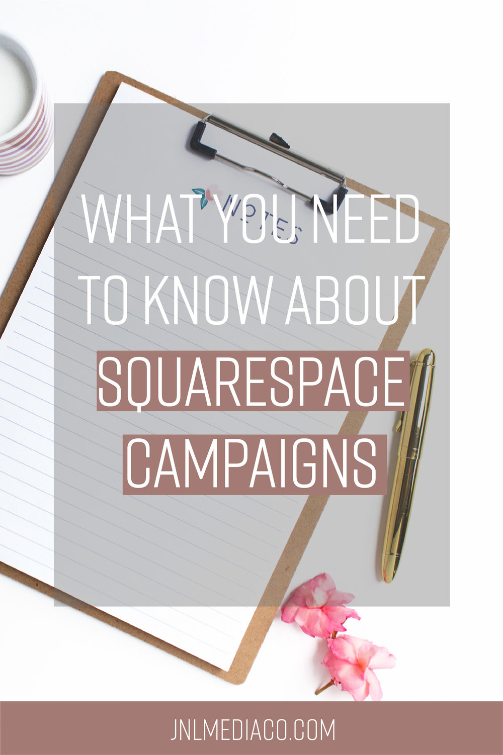 If you haven't started growing your  email list  yet then this might just be the push you were waiting for. So in today's blog, I'm going to talk about what Squarespace Campaigns is all about and if it's the best fit for you and your biz.