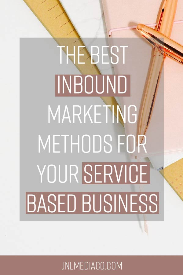 "First of all, what's inbound marketing? Inbound marketing can be viewed as similar to content marketing because you are providing value to people who are not yet ""warm"" leads."