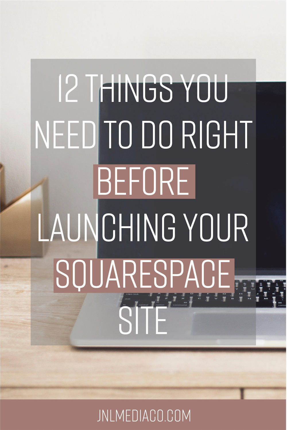 Congrats! Your site is ready to launch so I can't wait for you to start sharing your new online home! No more website shame means you're probably super excited to start landing your dream clients but before you go live there are a few things that need to happen.